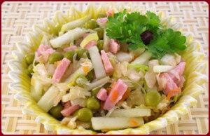 салат из топора