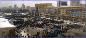 анти майдан в Харькове