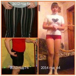 похудеть на 22 килограмма