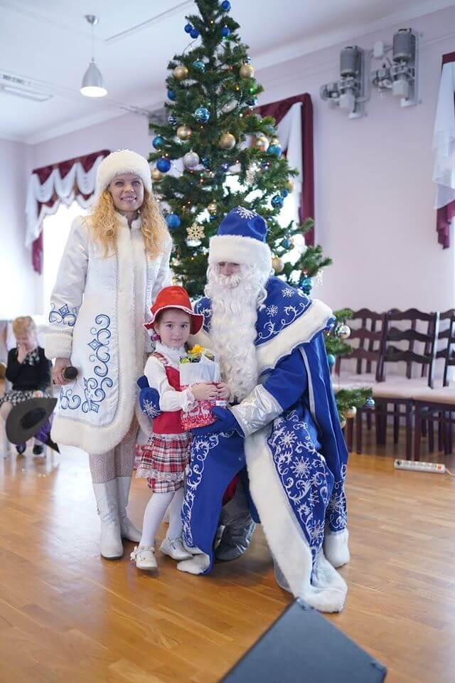 Пригласить Деда Мороза и Снегурочку на утренник