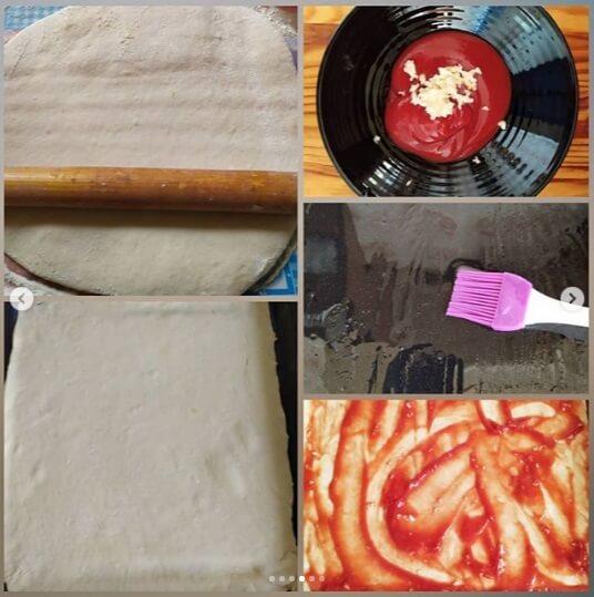 как готовить тесто для пиццы